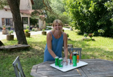 Corine - your host at Gite du Boissillon